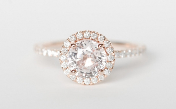 Rose Gold Engagement Rings Rose Gold Engagement Rings Under 2500