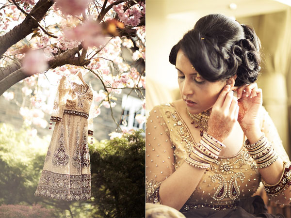 Vintage British Indian Wedding By LoveStruck Photography