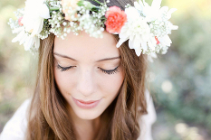 Floral crown wedding looks | Lexi Moody Photography http://www.leximoodyphotography.com/ | Arizona wedding photographer
