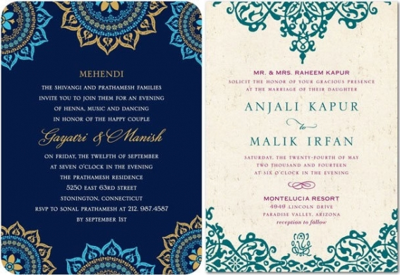 Wedding Invitation Wording Hindu Marriage: Indian Wedding Invitation: Things To Look At While Choosing