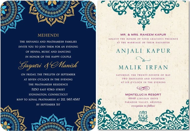 Creating the perfect indian wedding invitations without breaking the