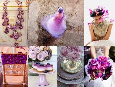 Radiant Orchid Indian wedding inspiration | Rubies and Ribbon Wedding Blog http://www.rubiesandribbon.com/2014/02/02/radiant-orchid-indian-wedding/