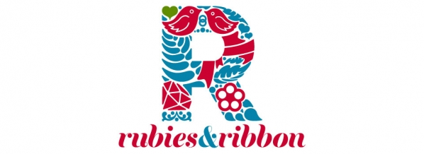 Indian Wedding Blog: Rubies and Ribbon logo